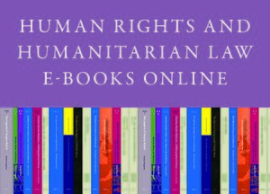 Cover Human Rights and Humanitarian Law E-Books Online, Collection 2010
