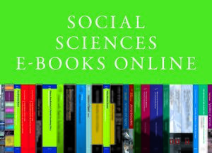 Cover Social Sciences E-Books Online, Collection 2008