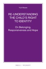 Cover Re-understanding the Child's Right to Identity