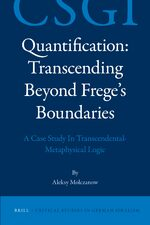 Quantification: Transcending Beyond Frege's Boundaries