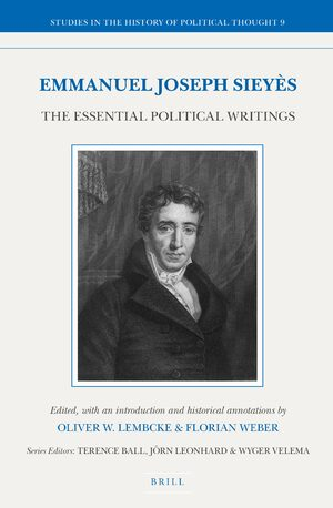 Cover Emmanuel Joseph Sieyès: The Essential Political Writings