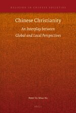 Cover Chinese Christianity