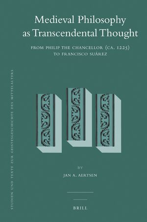 Cover Medieval Philosophy as Transcendental Thought
