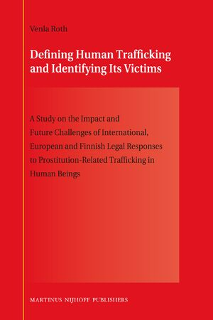 Cover Defining Human Trafficking and Identifying Its Victims