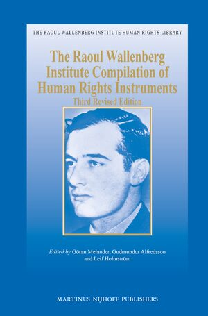 Cover The Raoul Wallenberg Institute Compilation of Human Rights Instruments