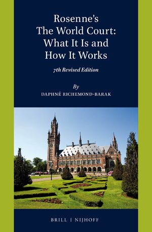 Cover Rosenne's The World Court: What It Is and How It Works