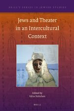 Cover Jews and Theater in an Intercultural Context