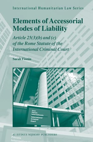 Cover Elements of Accessorial Modes of Liability