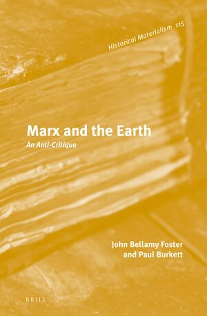Cover Marx and the Earth
