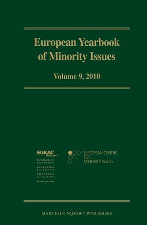 Cover European Yearbook of Minority Issues, Volume 9 (2010)