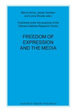 Cover Freedom of Expression and the Media