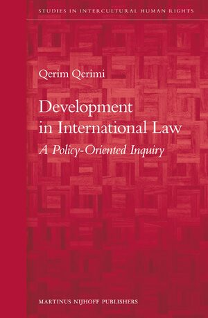 Cover Development in International Law