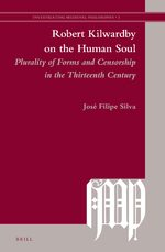 Cover Robert Kilwardby on the Human Soul