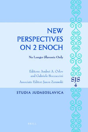 Cover New Perspectives on 2 Enoch