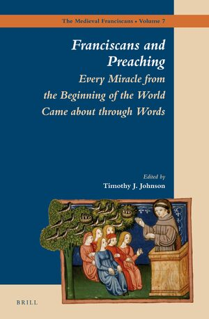 Cover Franciscans and Preaching