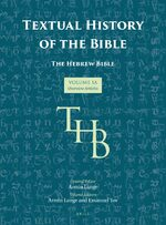 Cover Textual History of the Bible Vol. 1A