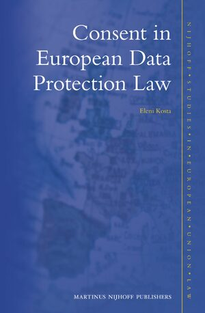 Cover Consent in European Data Protection Law
