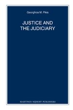 Cover Justice and the Judiciary