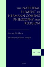 The National Element in Hermann Cohen's Philosophy and Religion