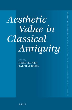 Cover Aesthetic Value in Classical Antiquity