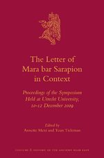 Cover The Letter of Mara bar Sarapion in Context