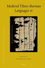Cover Medieval Tibeto-Burman Languages IV