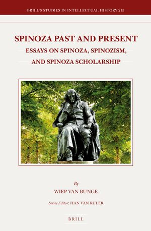 Cover Spinoza Past and Present