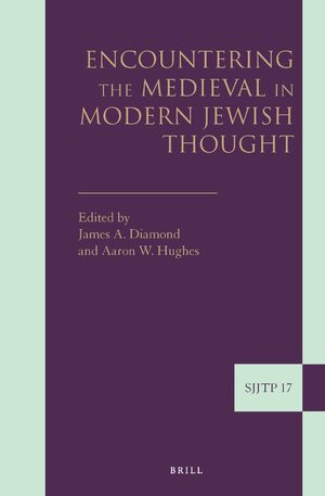 Cover Encountering the Medieval in Modern Jewish Thought