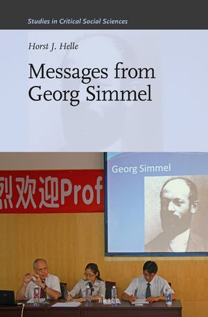 Cover Messages from Georg Simmel