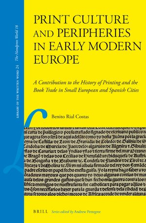 Cover Print Culture and Peripheries in Early Modern Europe