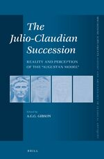Cover The Julio-Claudian Succession