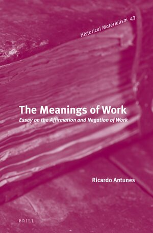 Cover The Meanings of Work