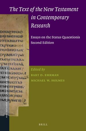 Cover The Text of the New Testament in Contemporary Research