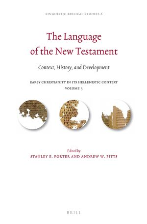 Cover The Language of the New Testament