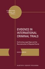 Evidence in International Criminal Trials