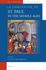 Cover A Companion to St. Paul in the Middle Ages