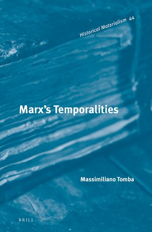 Cover Marx's Temporalities