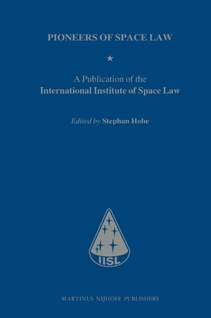 Cover Pioneers of Space Law