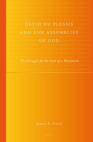 Cover David du Plessis and the Assemblies of God