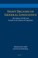 Cover Eight Decades of General Linguistics