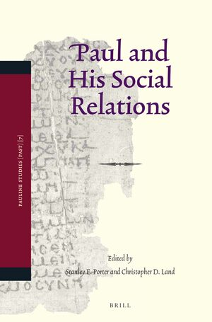Cover Paul and His Social Relations