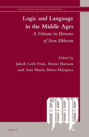 Cover Logic and Language in the Middle Ages