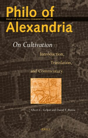 Cover Philo of Alexandria: On Cultivation