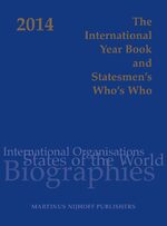 Cover The International Year Book and Statesmen's Who's Who 2014