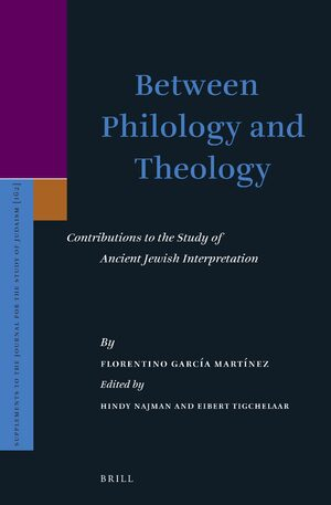 Cover Between Philology and Theology