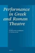 Cover Performance in Greek and Roman Theatre