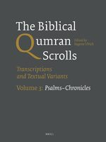 Cover The Dead Sea Scrolls Study Edition, Volume 2 4Q274-11Q31