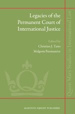 Legacies of the Permanent Court of International Justice