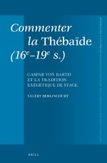 Cover Commenter la <i>Thébaïde</i> (16e-19e s.)