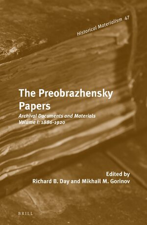 Cover The Preobrazhensky Papers